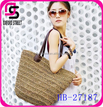 2015 new style Korea fashion beautiful ladies straw handbag