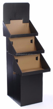 3-Tier Point-of-Purchase Display dump Bin for Floor, Free-Standing