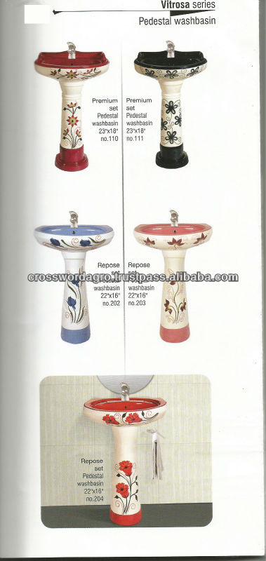STERLING Wash Basin With Pedestal