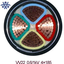 underground armoured 4 core 4mm 6mm 120mm copper conductor pvc electric power cable