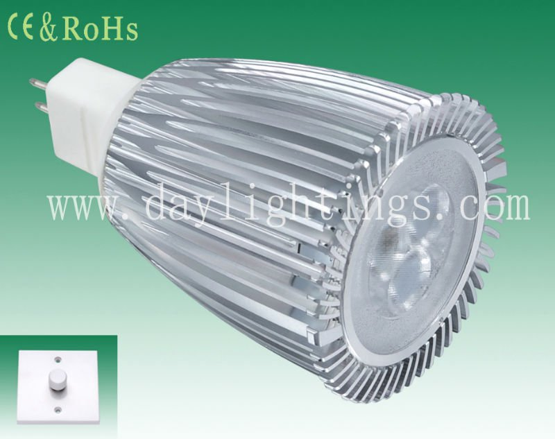 super bright Dimmable 9w MR16 LED CREE