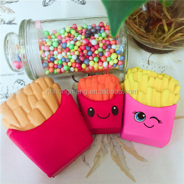 High quality various kinds of jumbo squishy slow rising food toys with good smell
