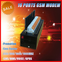 16 port gsm modem /send sms online send free text message with quad band