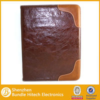Leather carrying bag case for ipad 3