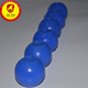 3mm 5mm 10mm 12mm 20mm 30mm 50mm custom design rubber ball with hole