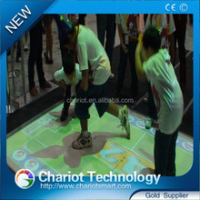 High Definition surface interactive, for Pepsi Cola effect advertising the best quality Interactive floor projection in China