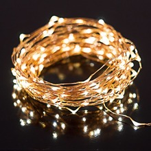 New Year's Christmas Decoration String Light Outdoor Waterproof Starry Fairy Light