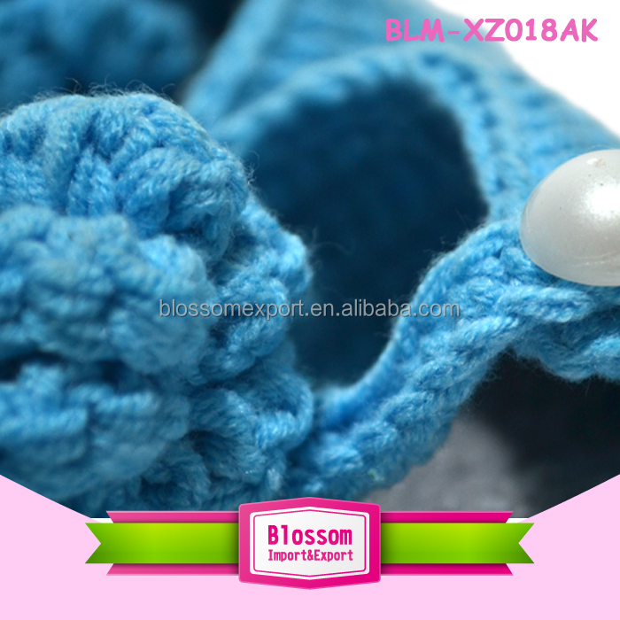 Baby blue design wool summer wholesale shoes baby moccasins