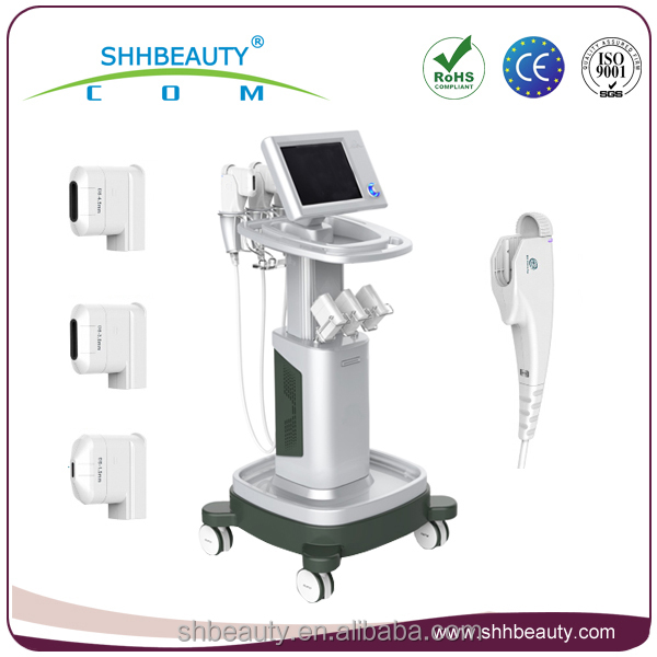 Beauty salon high intensity focused ultrasound / hifu skin lifting wrinkle removal machine