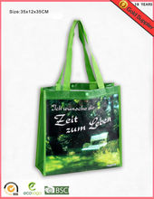 2016 Hot Sales For Shopping Imprint Promotion Logo Hand Tote fresh vegetable packaging bag