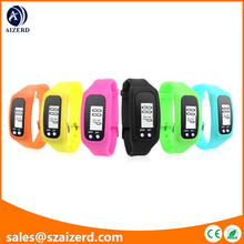 Digital LCD Pedometer Walking Distance Bracelet
