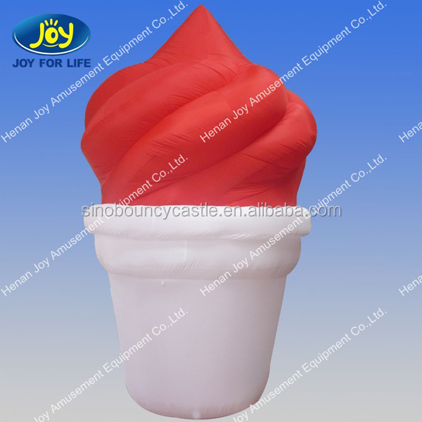 Advertising Inflatable Icecream Cone Outdoor