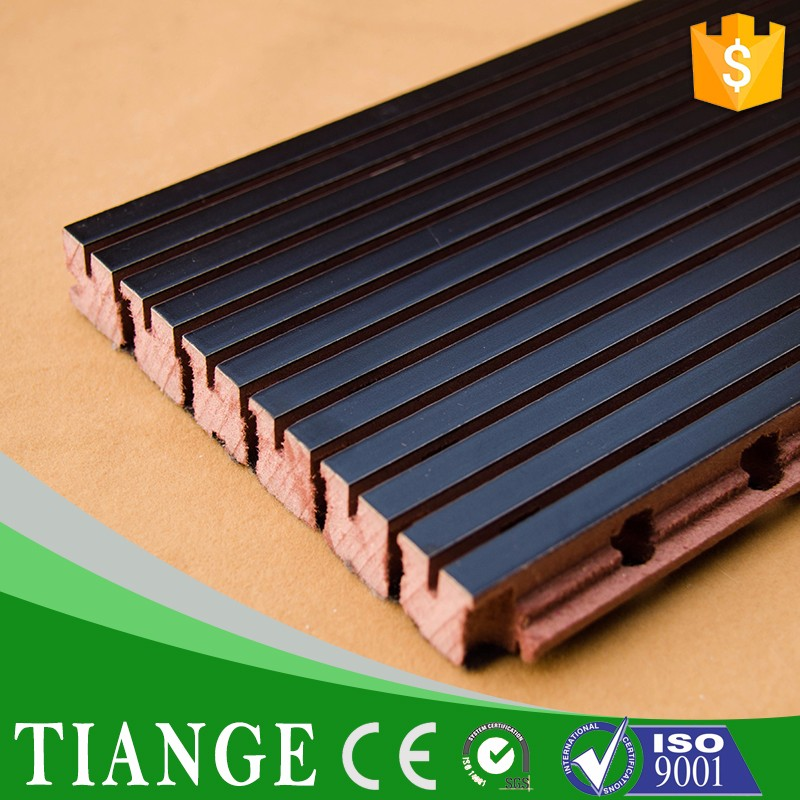 Wooden fire proof acoustic sound proof sound absorption materials