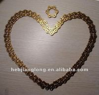 High Quality Golden 114 Link Bicycle Chain