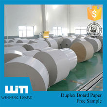 Indonesia Paper Price 230gsm Grey Back Carton Duplex Board