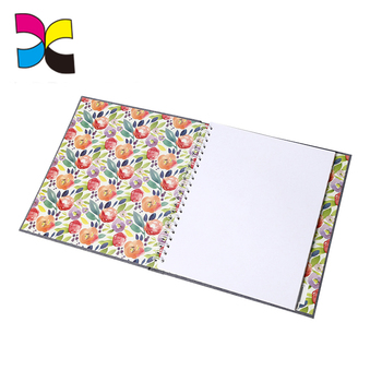 Christmas gift factory sell high quality customized design diary agenda joural book printing