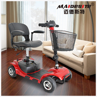 Online Whole sale Four Wheel electric Mobility wheelchair Scooter For Adults