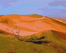 GX6636 wholesales abstract desert landscape painting by numbers,EN71-123, CE,factory hot selling painting