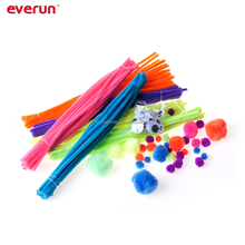 Colorful Ultimate Fuzzy Kit Chenile stem DIY Craft for Children