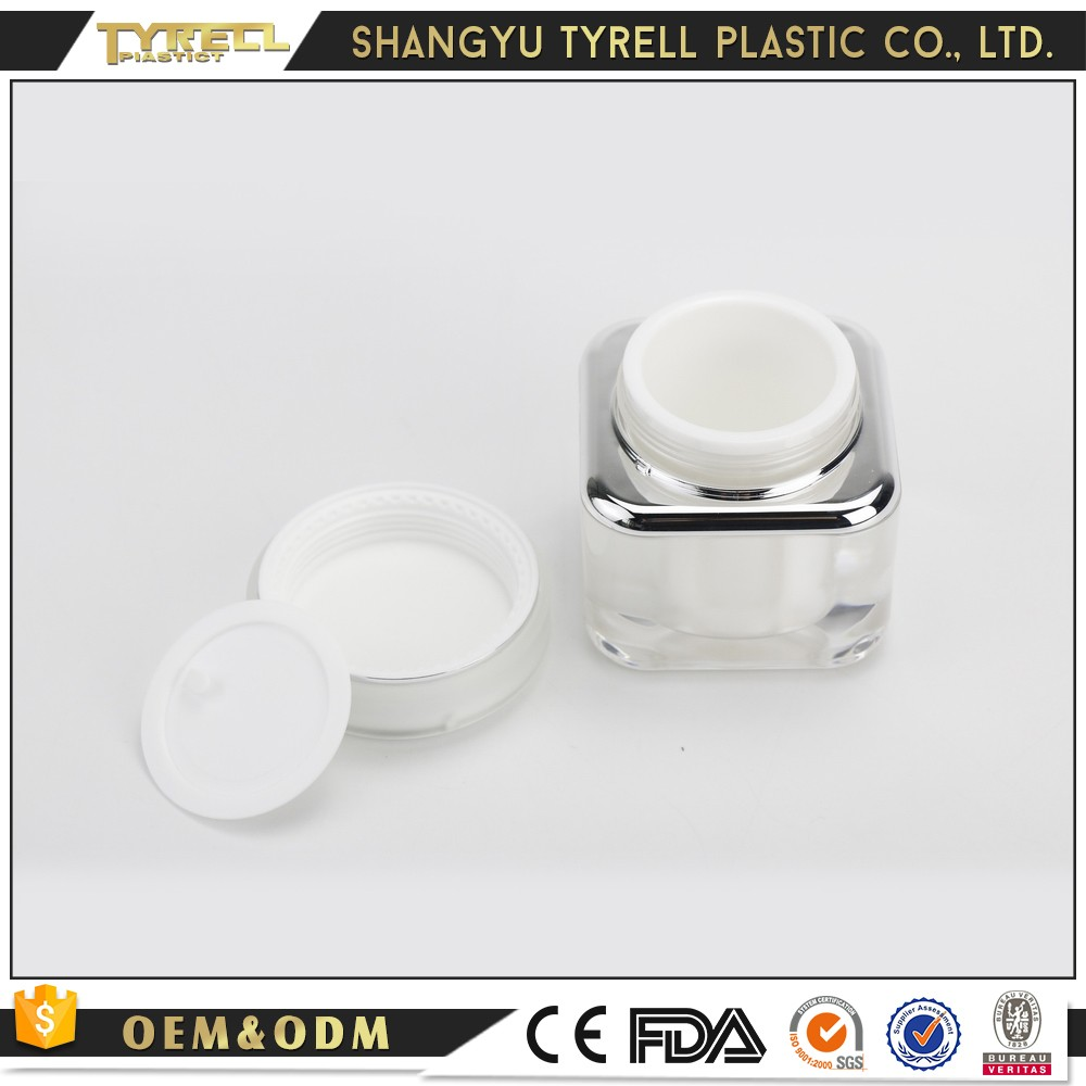 Alibaba China plastic acrylic cosmetic containers bottle