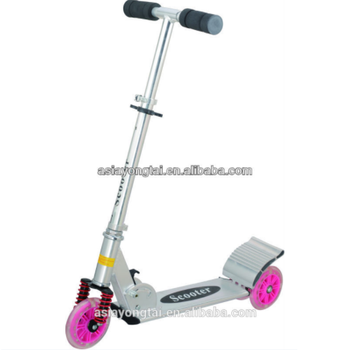 100%Aluminium, with damping high level Scooter