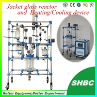Reaction vessel,chemical mixing reactors,jacket heating reactor platelet agitator microbiology laboratory equipm...