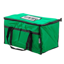 Alibaba wholesale custom soft sided 23 x 13 x 15 green insulated nylon food delivery fitness cooler lunch bag