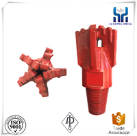 All sizes pdc drag bit for oil weill diamond drill