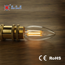 Best price candle e12 led filament bulb dimmable candle lamp