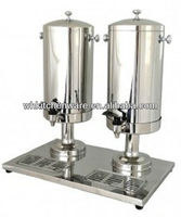 2*12L Double cold milk dispenser machine