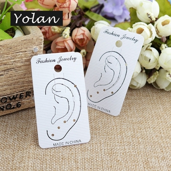 Specialize PVC special paper display card earring card