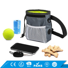 Dog Training Equipment With Poop Bag Dispenser Adjustable Pet Dog Training Treat Pouch Bag