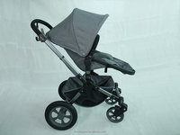 Landleoprad baby stroller pushchair with the sun canopy cover for the light weight baby stroller pass EN 1888:2012
