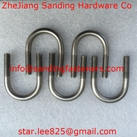 Stainless steel U Bolt/ carbon steel forged L bolts