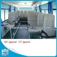 CE/EEC/E-mark approved bus passenger seat for Europe market 420mm cushion width