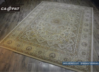 Persian design handmade wool silk chinese carpet and rugs WG-HC6011-01