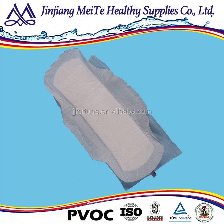 Best product 245mm Cotton cover Lady female sanitary napkin
