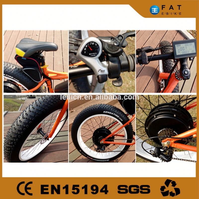 new high quality 2016 brushless dc motor fat bike
