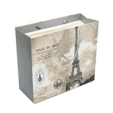 Custom printed With LOGO printing Cheap custom decorative handmade paper gift bags