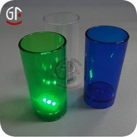 Hot Selling Promotional Gifts Multicolored Flashing Led Plastic Cup