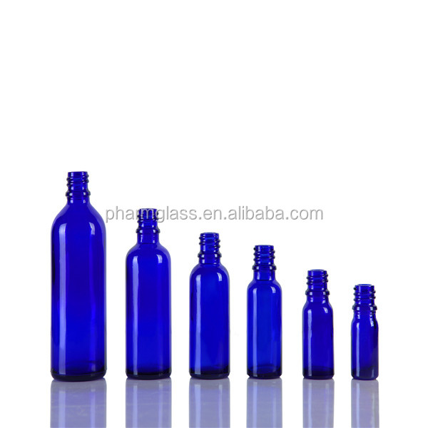 Essential oil glass bottle(Cobalt blue and green color)