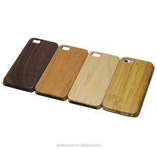 Smooth Touching Pure Color One Piece Wooden Cell Phone Case Cover for Iphone5/5s/5 se