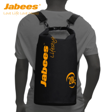 New Arrival Jabees PVC Large Capacity 20L Portable Waterproof Dry Bag With Shoulder Strap