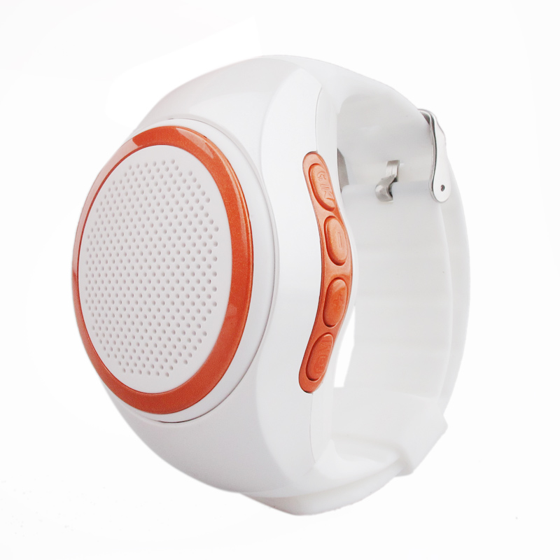 5 colors optional Portable Bluetooth Watch Speaker With Watchband Outdoor Sports Wireless Mini Speaker Support USB Handsfree