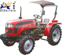 Tractor, lawn tractor 25HP, 4x4, QLN254 with 3 point hitch backhoe, farm tractor front end loaders