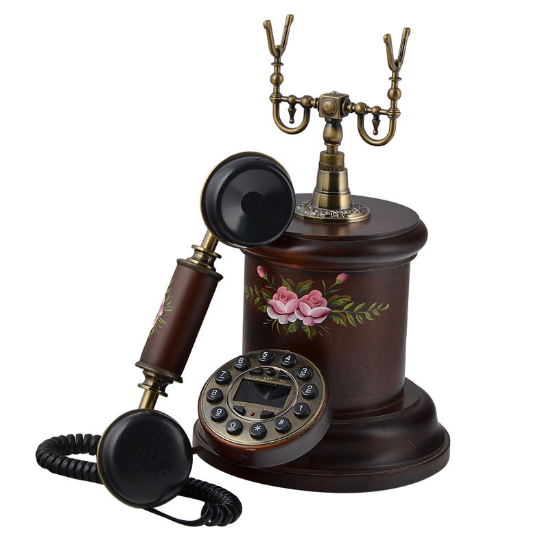 Antique Decorative Telephone Import Vintage Home Decor Retro
