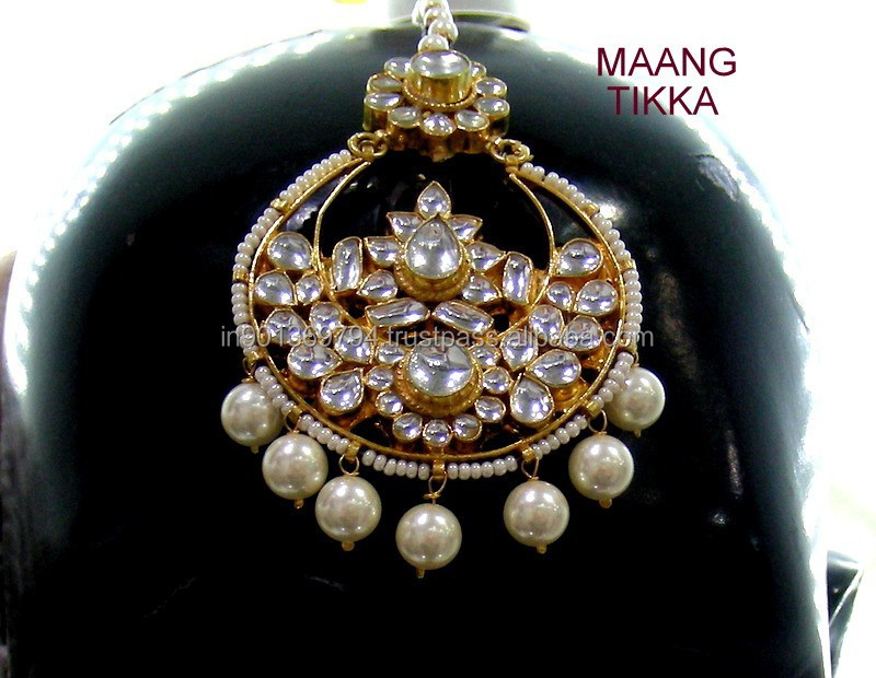 Bridal Kundan Head Jewelry