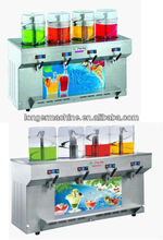 Four tanks Slush machine|slush making machine|Cold drink machine for commercial