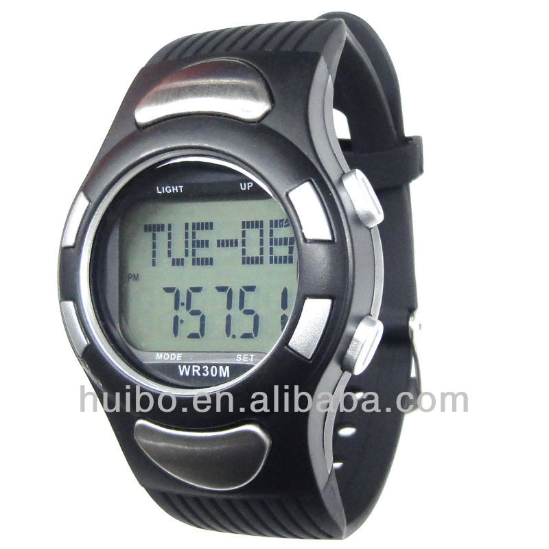 New design fitness pulse watch heart rate monitor