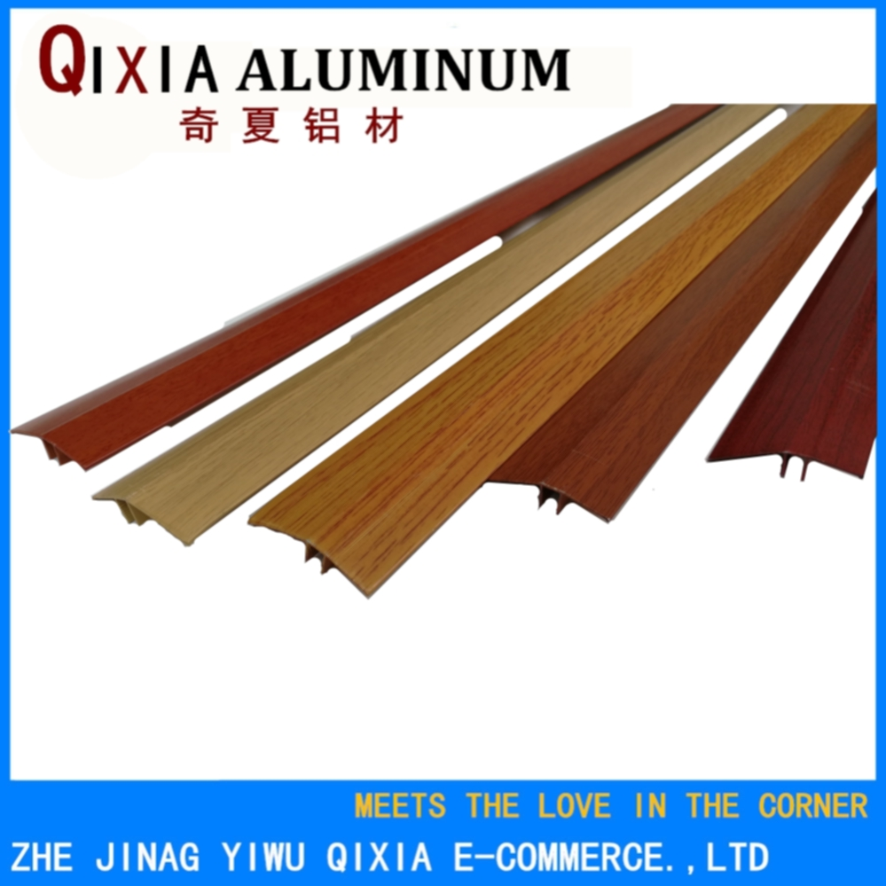 Good quality anodized extruded aluminum floor trim transition